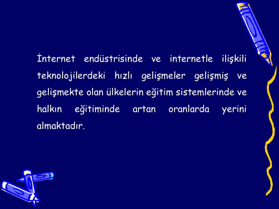 Fakat Eğitmenlerin internet destekli eğitim ortamlarına alışkın olmaması ve internet teknolojilerini yeterince kullanamaması beraberinde bazı problemler getirmektedir.