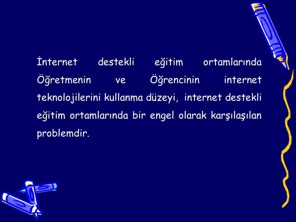 Öğrencilerin internete karşı olan tutumları, öğrencilerin interneti bir eğitim aracı olarak kullanmasına doğrudan etki etmektedir.