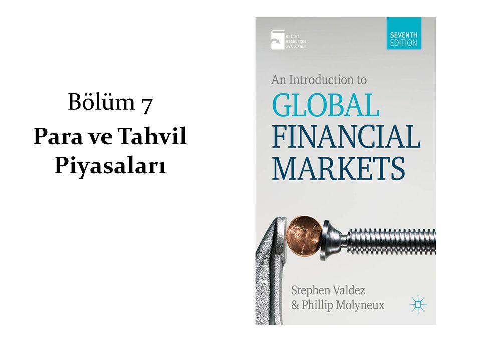 Bölüm 7 Para ve Tahvil Piyasaları