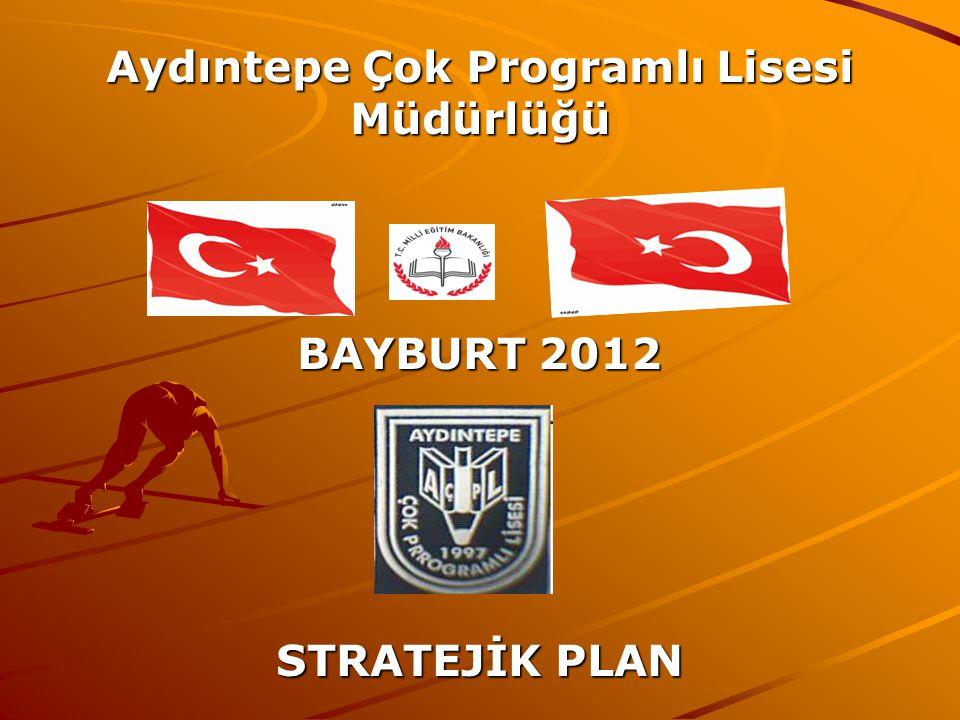 Aydıntepe Çok Programlı Lisesi Müdürlüğü BAYBURT 2012 STRATEJİK PLAN