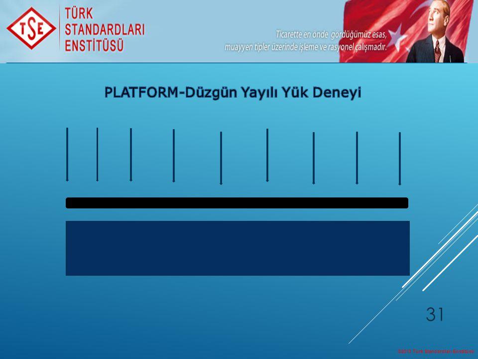 ©2013 Türk Standardları Enstitüsü 31