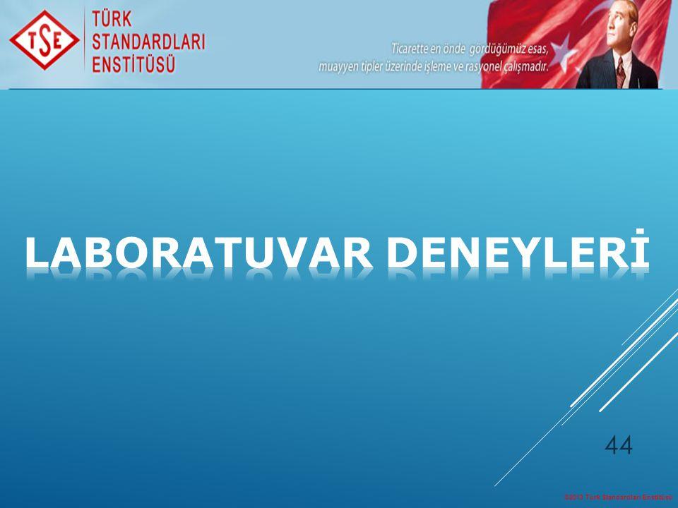©2013 Türk Standardları Enstitüsü 44