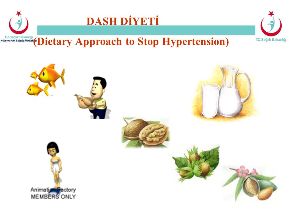 DASH DİYETİ (Dietary Approach to Stop Hypertension)