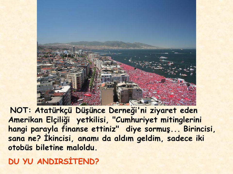 Dön, 2007 ye... Türkler etnik...