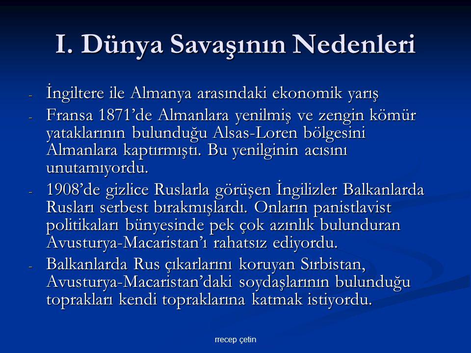 Mondros Ateşkes Antlaşması 30 Ekim 1918 Maddeleri: - Boğazlar Anlaşma Devletlerine açılacak ve bu devletlerce işgal edilecekti.