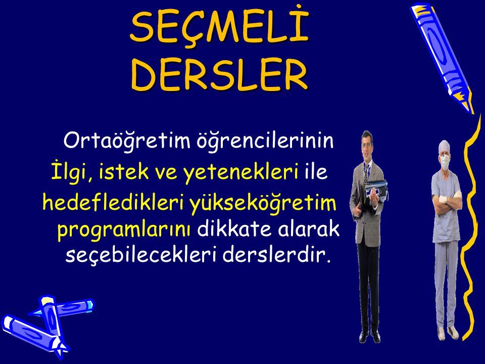 DERS SEÇİMİ NEDEN ÖNEMLİ .