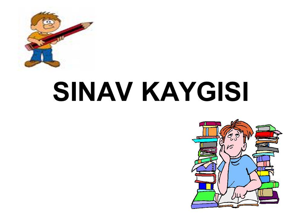 KAYGIYI YENME YOLLARI 3.
