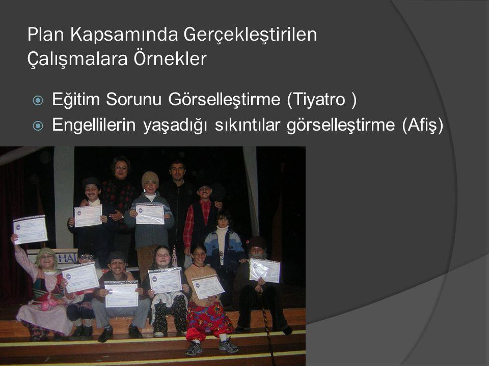  Eğitim Sorunu Görselleştirme (Tiyatro )  Engellilerin yaşadığı sıkıntılar görselleştirme (Afiş)