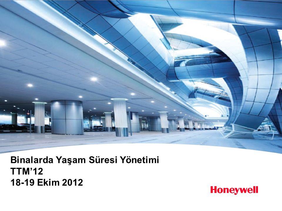 Binalarda Yaşam Süresi Yönetimi TTM'12 18-19 Ekim 2012
