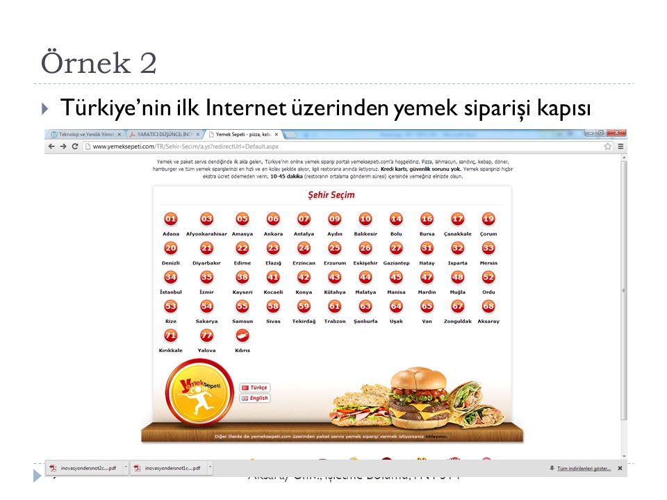 Örnek 3: E-Devlet: turkiye.gov.tr Aksaray Üniv., İ şletme Bölümü, YNT 51410