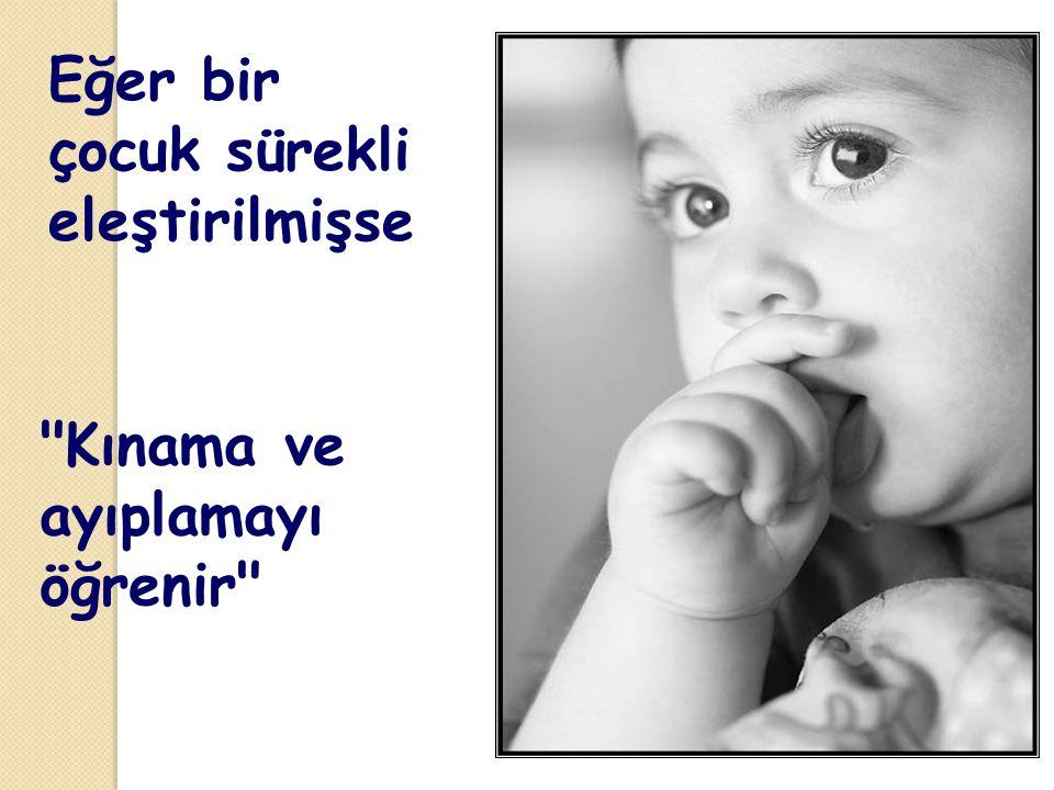 Çocuk yaşadığını öğrenir…