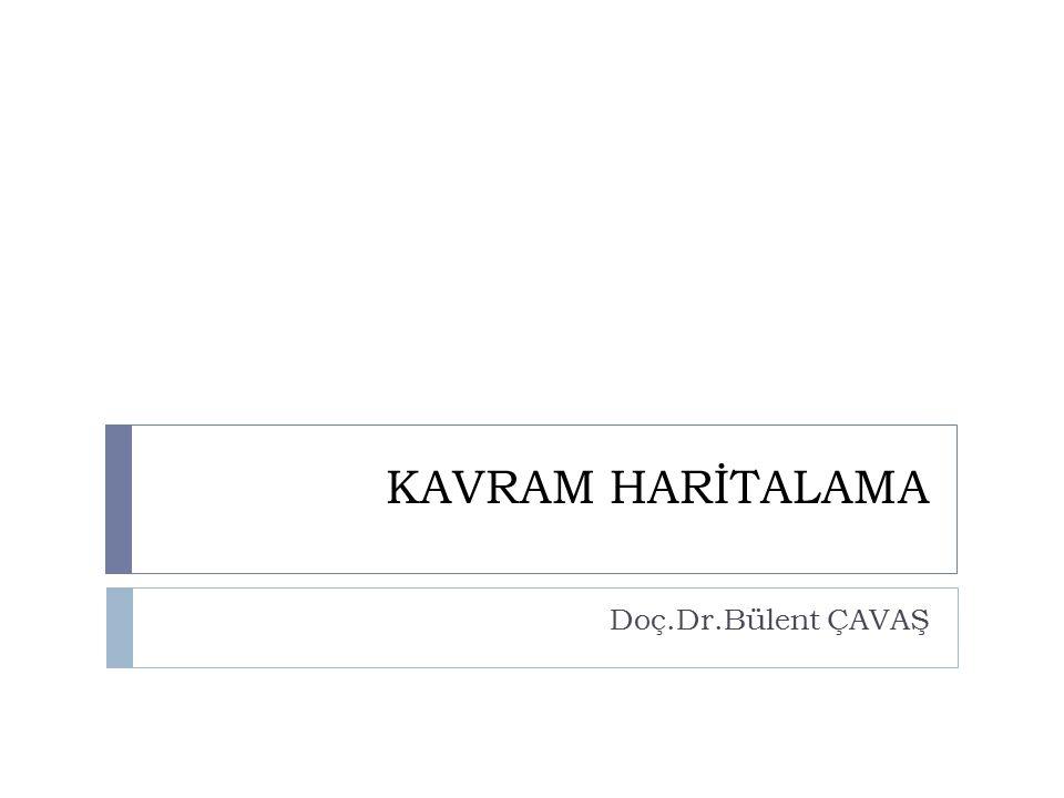 KAVRAM HARİTALAMA Doç.Dr.Bülent ÇAVAŞ