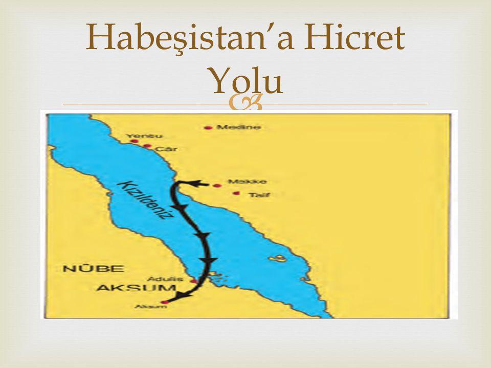  Şayet isterseniz Habeşistan'a gidin.