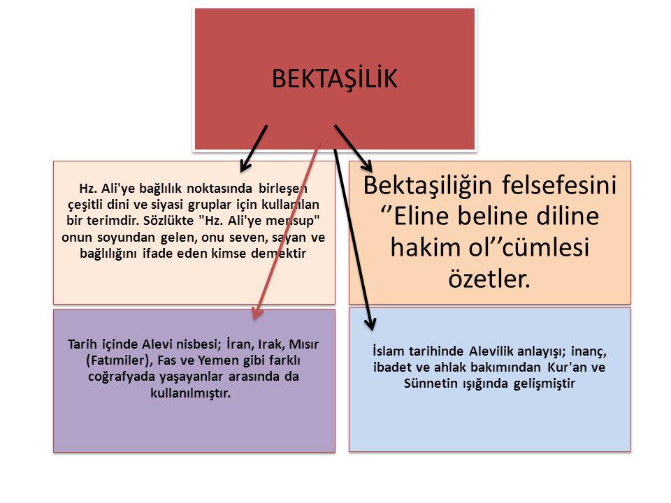 Hz. Ali'ye bağlılık noktasında birleşen çeşitli dini ve siyasi gruplar için kullanılan bir terimdir. Sözlükte