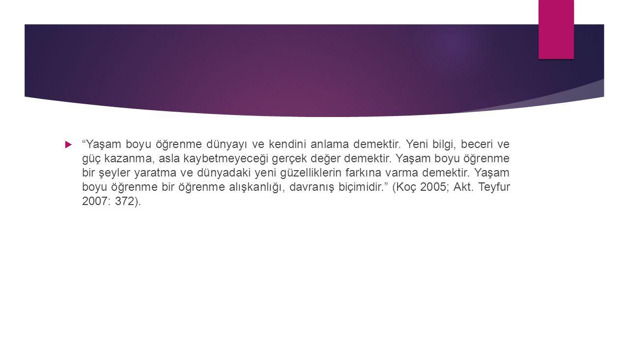 Kaynaklar  Yener ÖZEN (2011).