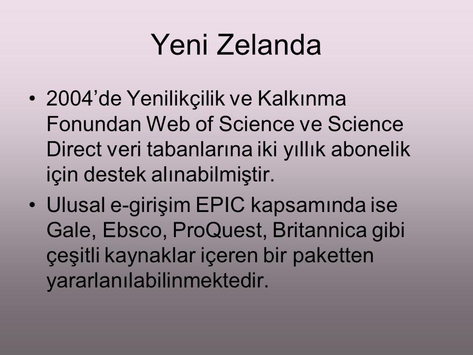 Dokuzuncu Kalkınma Planı 2007 -2013 Toplumda bilim ve teknoloji bilinci, nitelikli araştırmacı sayısı artırılacak ve araştırma altyapısı geliştirilecektir.