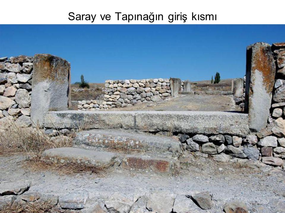 Saray ve Tapınağın giriş kısmı