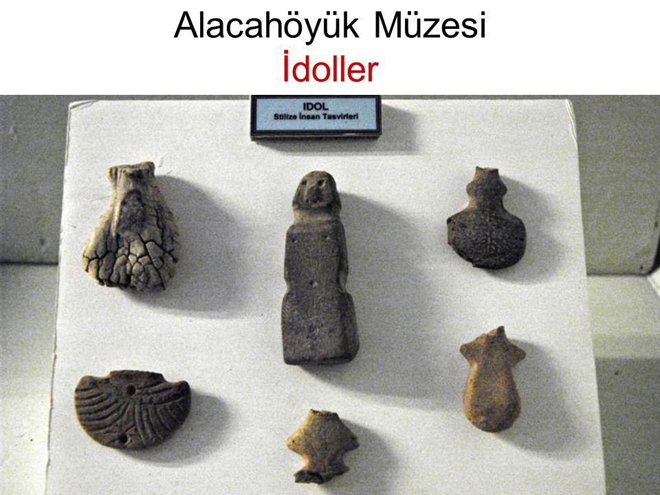 Alacahöyük Müzesi İdoller