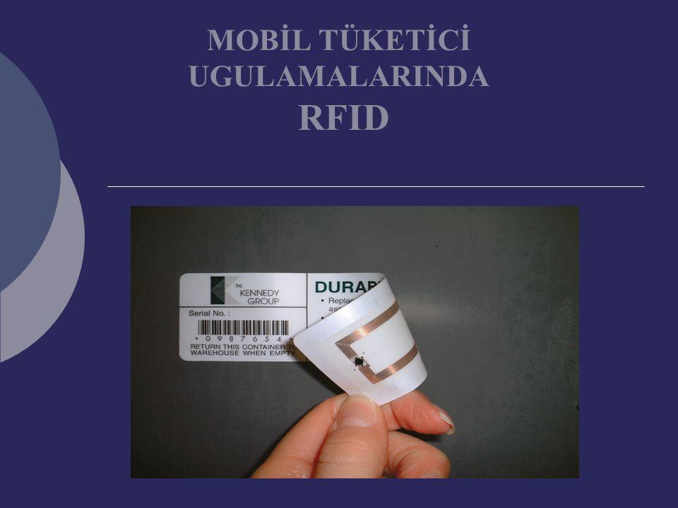 MOBİL TÜKETİCİ UGULAMALARINDA RFID