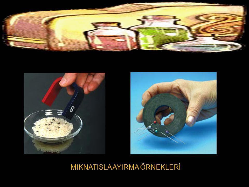 MIKNATISLA AYIRMA ÖRNEKLERİ