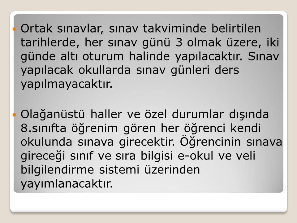 Ders Adı Ağırlık Katsayıları Türkçe4 Matematik4 Fen ve Teknoloji4 Din Kültürü ve Ahlak Bilgisi2 T.C.