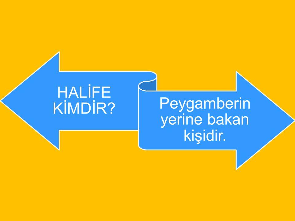 """DÖRT HALİFE DÖNEMİ ( 632 – 661 ) Hz. Ebubekir Hz.Ömer Hz. Osman Hz. Ali Hz. Ali """"Cumhuriyet Dönemi"""" denir"""