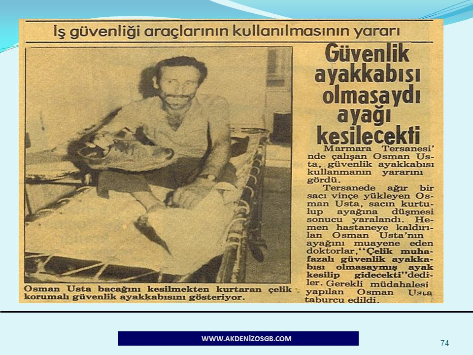 74 WWW.AKDENİZOSGB.COM