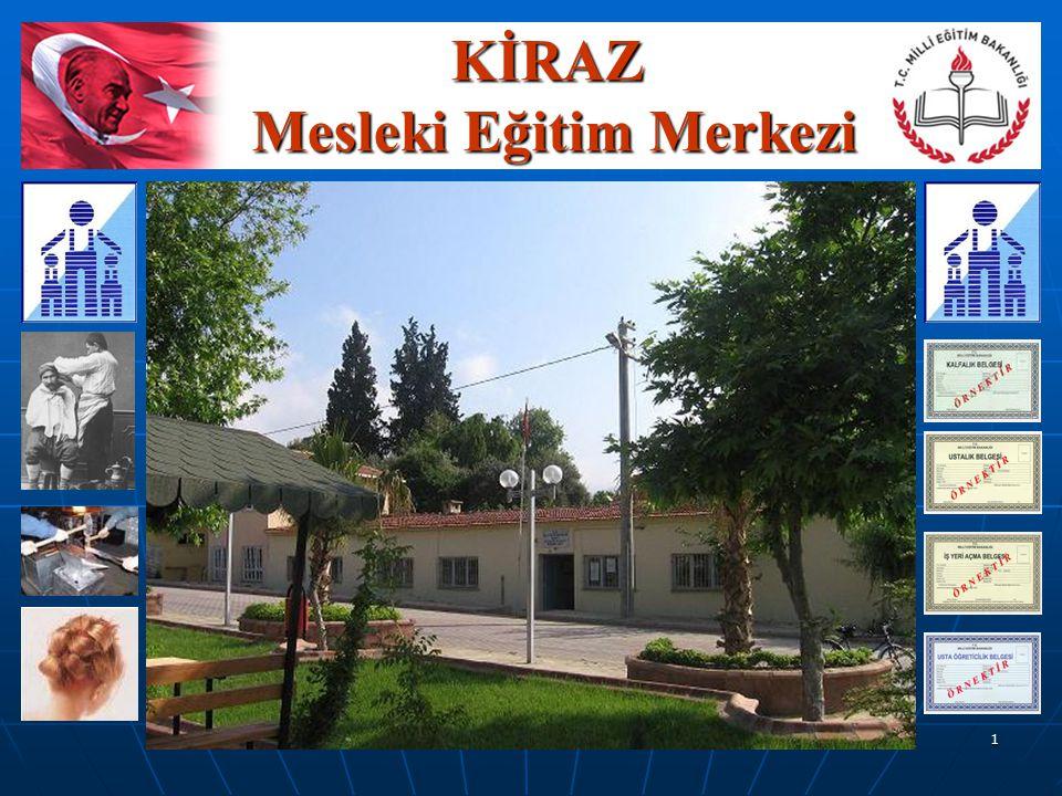 Düzenleyen;Faruk KAZAK 1 KİRAZ Mesleki Eğitim Merkezi