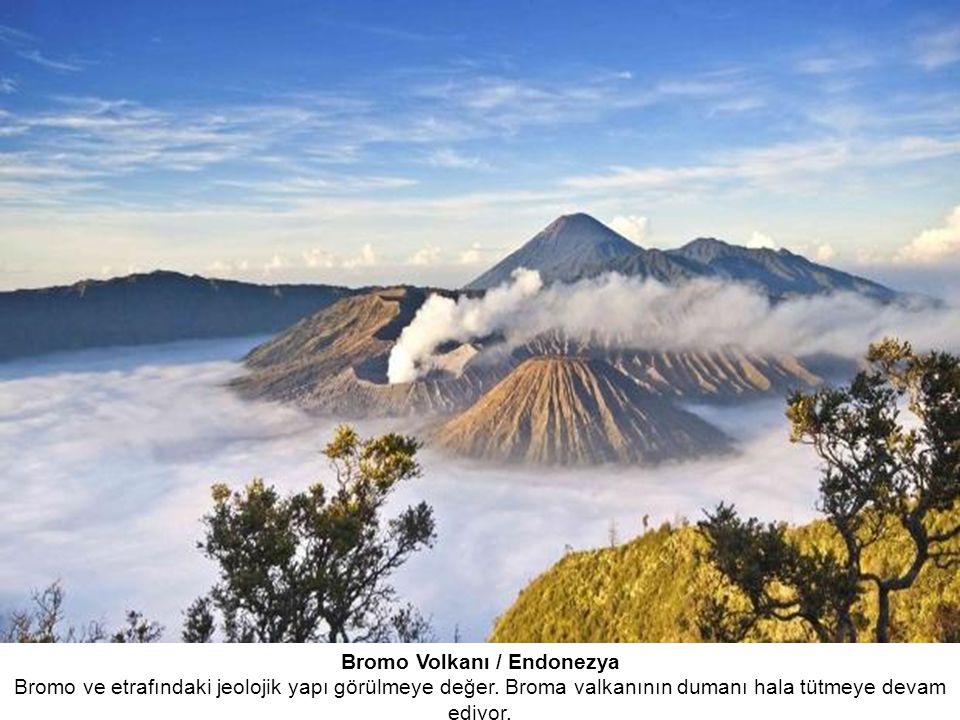 Bromo Volkanı / Endonezya Bromo ve etrafındaki jeolojik yapı görülmeye değer.