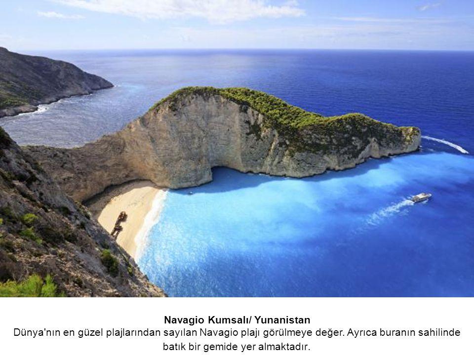 Navagio Kumsalı/ Yunanistan Dünya nın en güzel plajlarından sayılan Navagio plajı görülmeye değer.