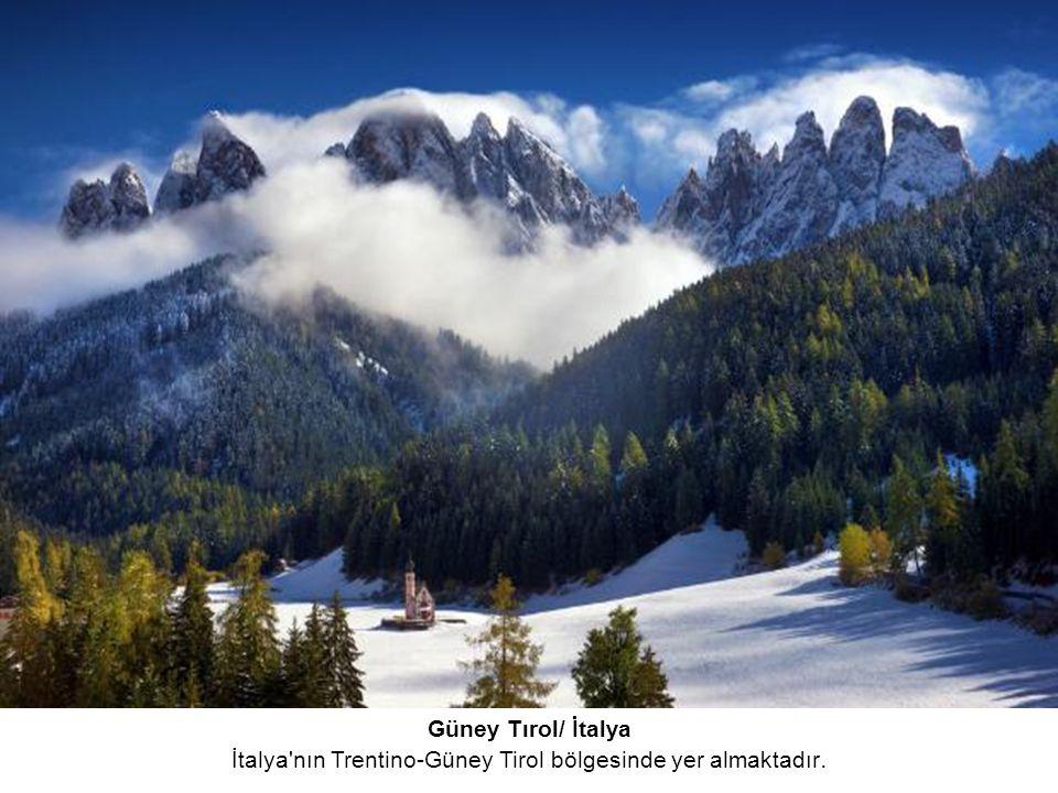 Güney Tırol/ İtalya İtalya nın Trentino-Güney Tirol bölgesinde yer almaktadır.