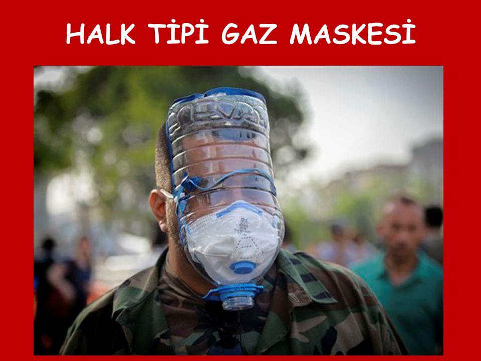 HALK TİPİ GAZ MASKESİ