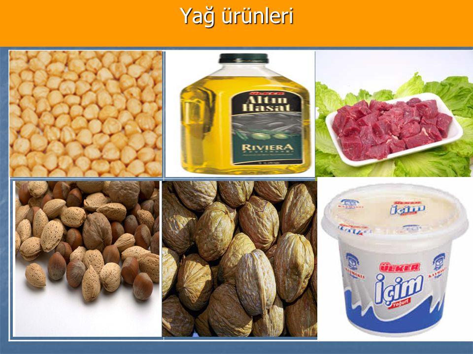 Yağ ürünleri