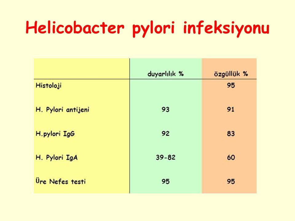 Helicobacter pylori infeksiyonu