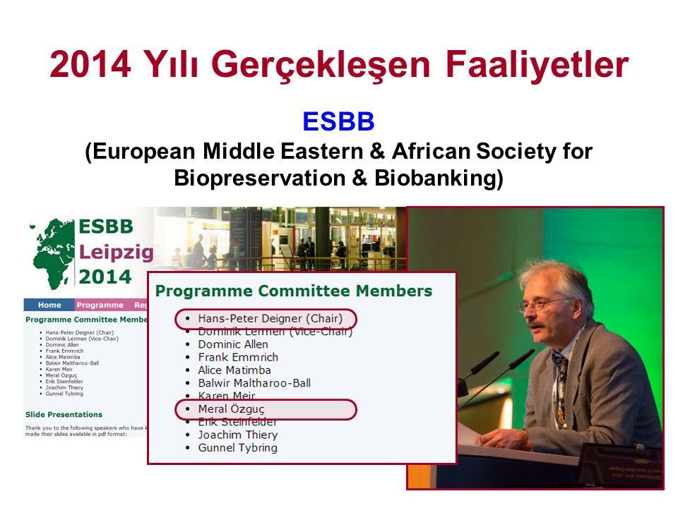 2014 Türk-Alman Bilim Yılı 2223-D - İşbirliği ve Öncelikli Alanlarla İlgili Etkinlik Düzenleme Desteği (Yürütücü: Prof.