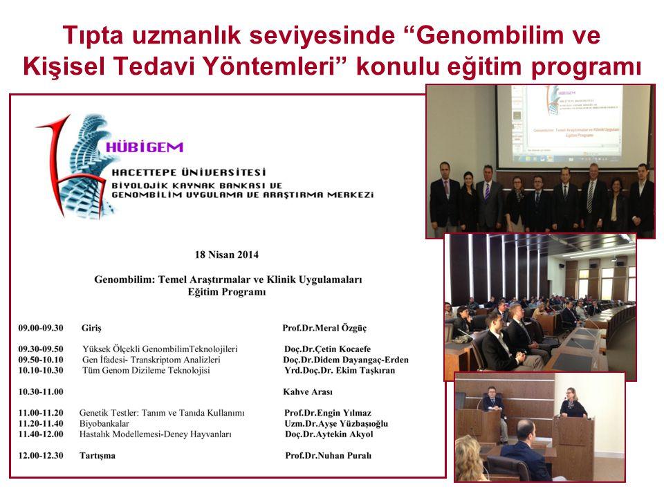 Biyobankalar-Etik ve Hukuksal Çerçeveler konulu eğitim toplantısı (Biyoetik Merkezi ile işbirliği)
