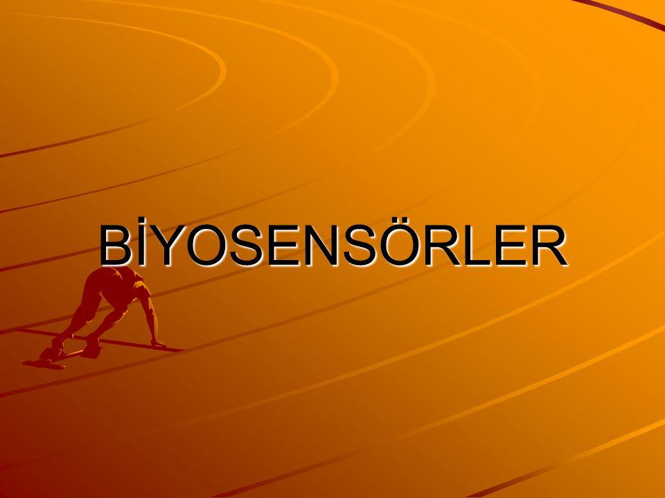 Biyosensörler (biyoalgılayıcılar), bünyesinde biyolojik bir duyargacı bulunan ve bir fizikokimyasal çevirici ile birleştirilmiş analitik cihazlar olarak tanımlanmaktadır.