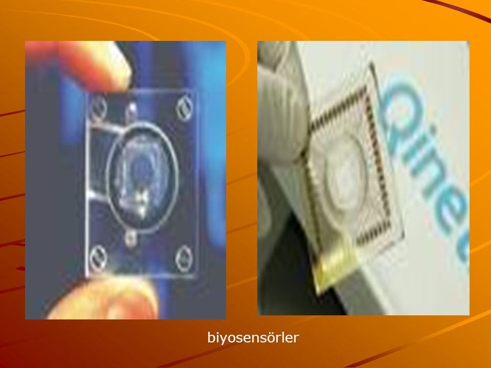 Biyosensör sistemi üç temel bileşenden oluşmaktadır.