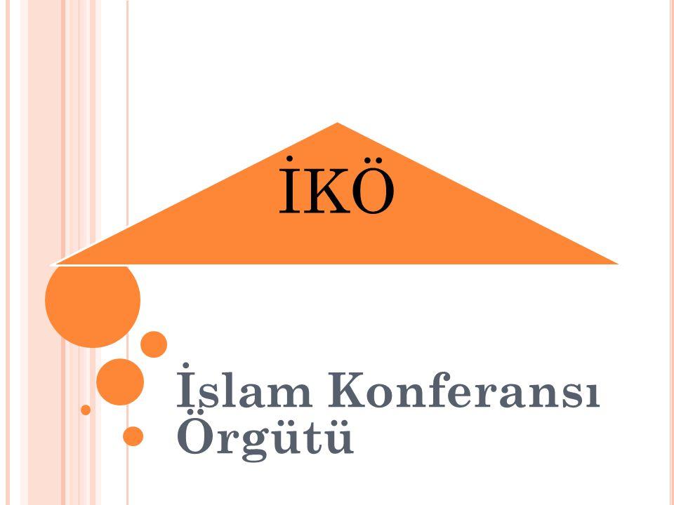 İKÖ İslam Konferansı Örgütü