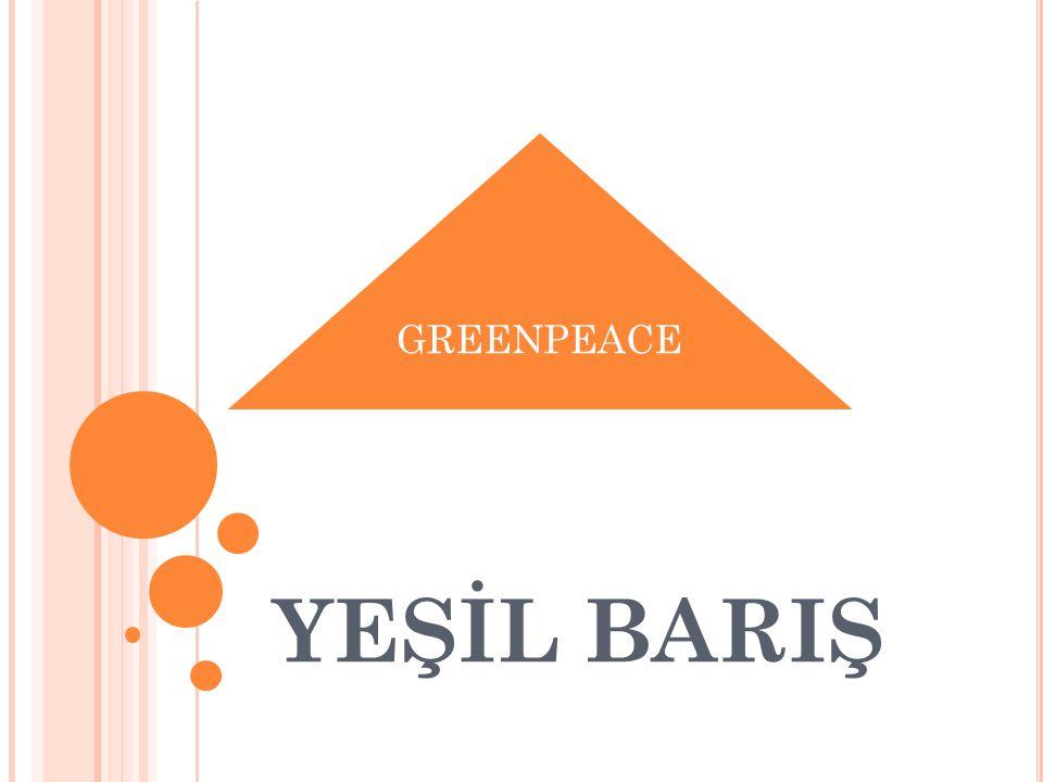 GREENPEACE YEŞİL BARIŞ