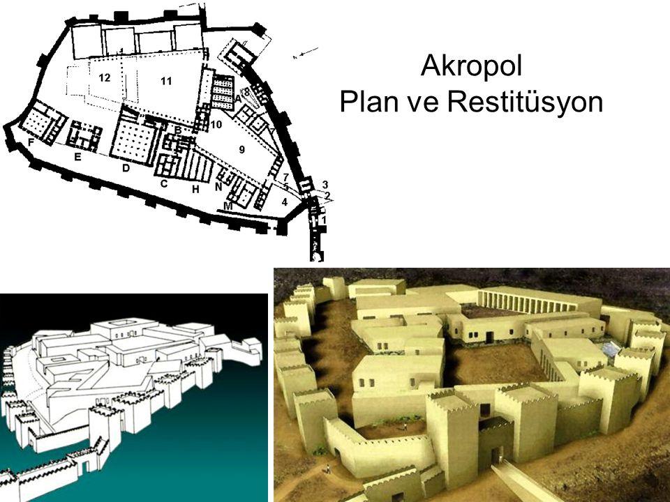 Akropol Plan ve Restitüsyon