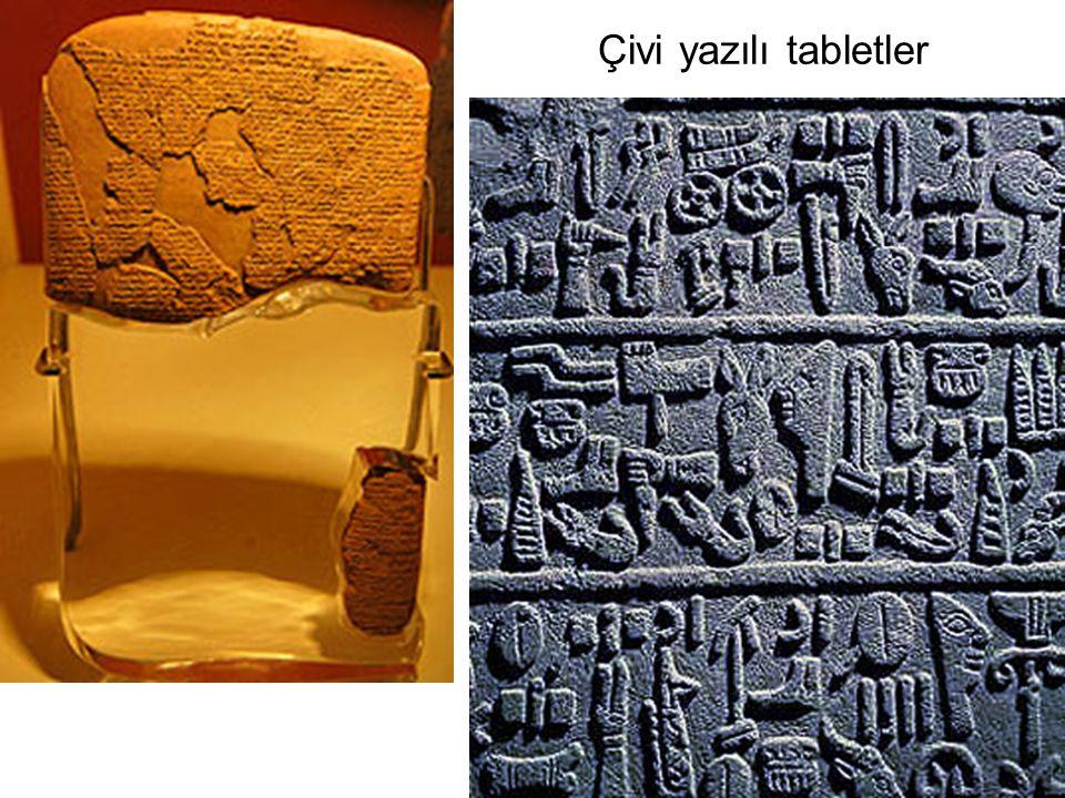 Çivi yazılı tabletler