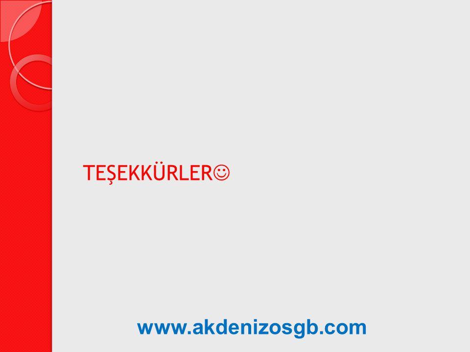TEŞEKKÜRLER www.akdenizosgb.com