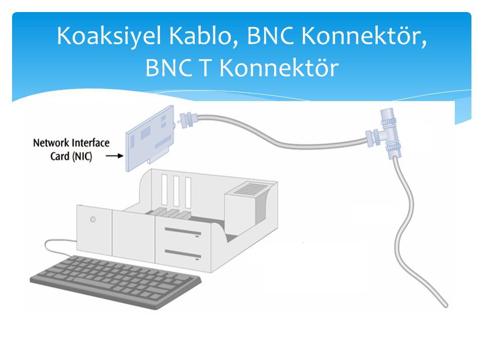 Koaksiyel Kablo, BNC Konnektör, BNC T Konnektör