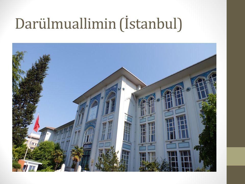 Darülmuallimin (İstanbul)
