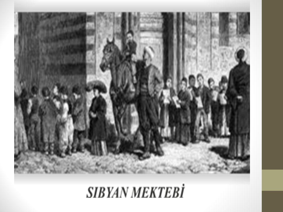 Mekteplerin ilk örneği olan küttaplarda sadece erkek çocuklar öğrenim görürken Osmanlılar devrinde kız çocukları da erkeklerle birlikte mekteplere devam ederlerdi.