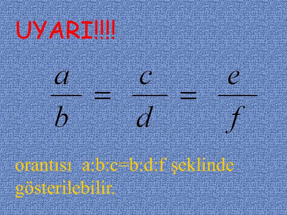 k: orantı sabiti