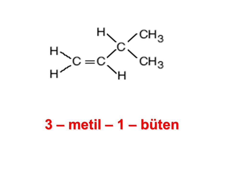 3 – metil – 1 – büten