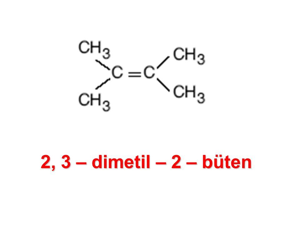 2, 3 – dimetil – 2 – büten