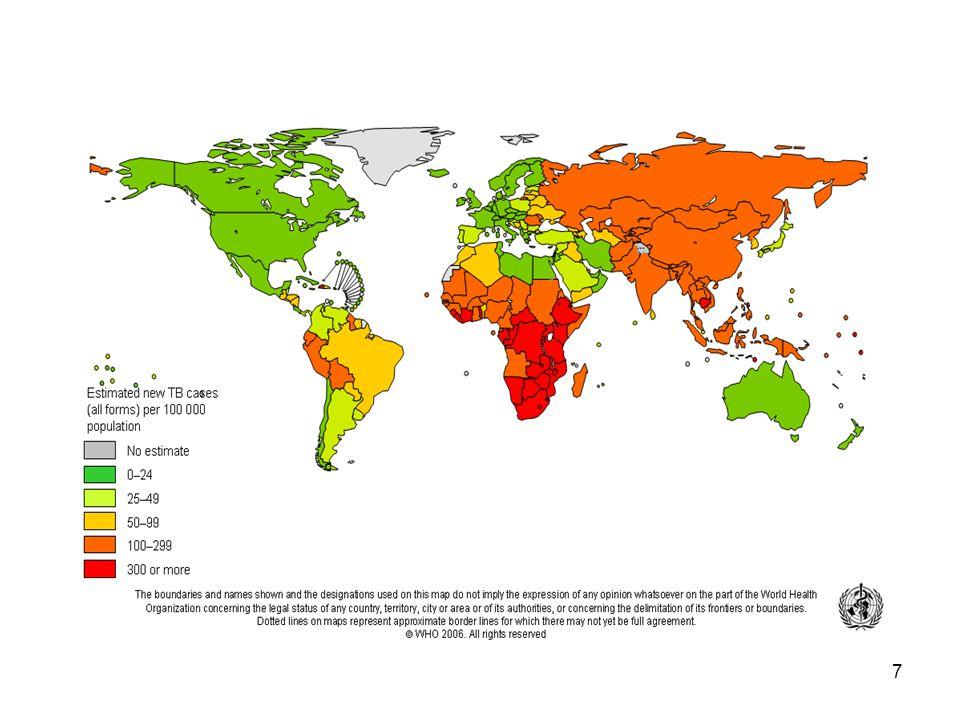 8 22 Yüksek Endemik Ülke (%75) Hindistan Çin Endonezya Nijerya Bangladeş Etiyopya Filipinler Pakistan G.